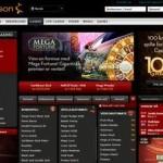 Betsson website screen